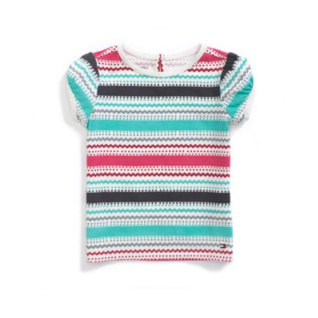 Image for MUTLI STRIPE GRAPHIC TEE from Tommy Hilfiger USA