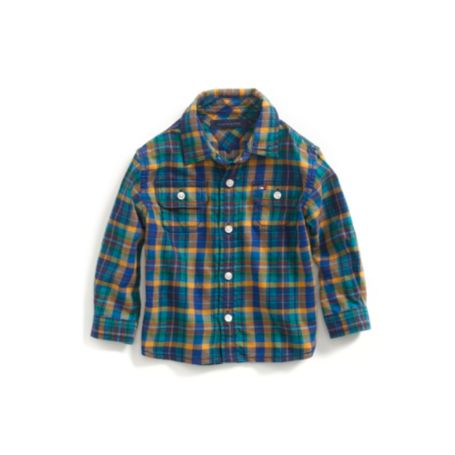 Image for PLAID ROLLUP SHIRT from Tommy Hilfiger USA