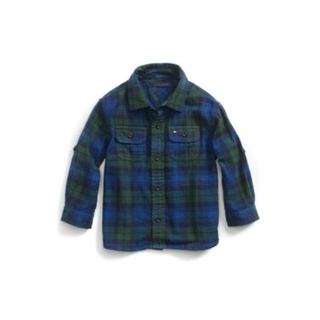 Image for BLACKWATCH PLAID SHIRT from Tommy Hilfiger USA