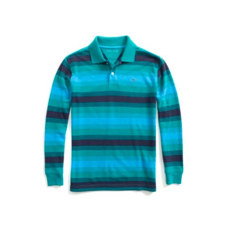 Image for GRADIENT STRIPE POLO from Tommy Hilfiger USA