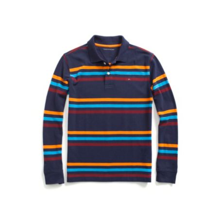 Image for MULTI COLORED STRIPE POLO from Tommy Hilfiger USA