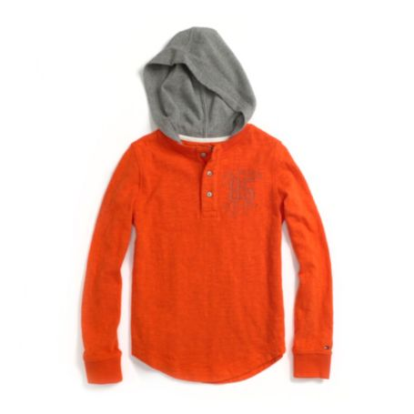 Image for HOODED HENLEY from Tommy Hilfiger USA