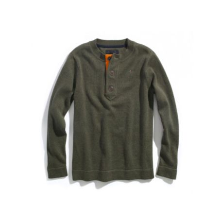 Image for HENLEY SWEATER from Tommy Hilfiger USA