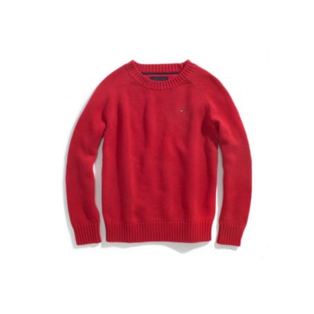 Image for CLASSIC CREW SWEATER from Tommy Hilfiger USA