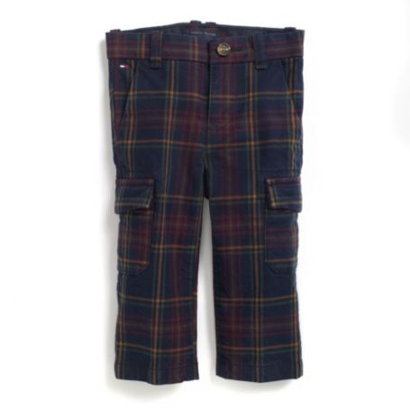 Image for HOLIDAY PLAID CARGO PANT from Tommy Hilfiger USA