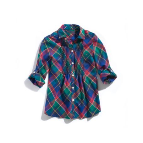 Image for PLAID TUNIC SHIRT from Tommy Hilfiger USA