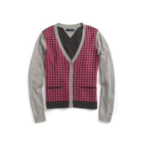 Image for HOUNDSTOOTH CARDIGAN from Tommy Hilfiger USA