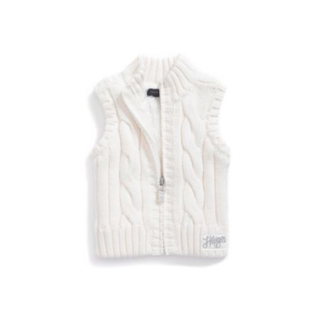 Image for CABLE SWEATER VEST from Tommy Hilfiger USA