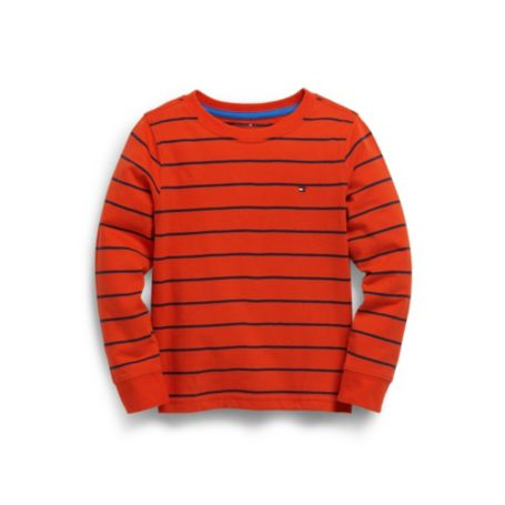 Image for PINSTRIPE TEE from Tommy Hilfiger USA