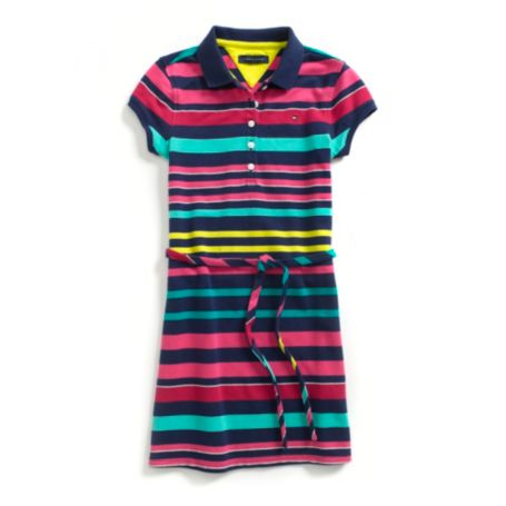 Image for MULTI STRIPE POLO DRESS from Tommy Hilfiger USA