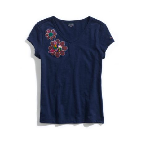 Image for FLORAL TEE from Tommy Hilfiger USA