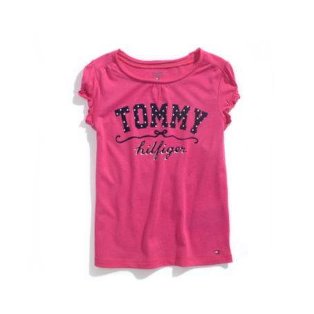 Image for APPLIQUE TEE from Tommy Hilfiger USA