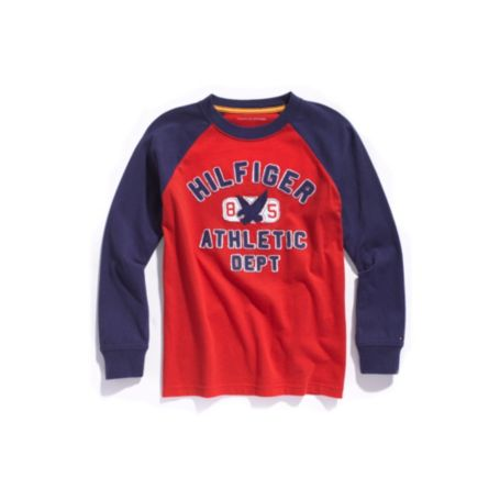 Image for ATHLETIC DEPT GRAPHIC TEE from Tommy Hilfiger USA