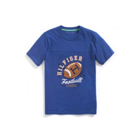 Image for FOOTBALL TEE from Tommy Hilfiger USA