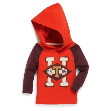 Image for HOODED FASHION TEE from Tommy Hilfiger USA