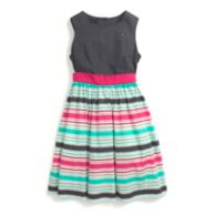 KNIT STRIPED DRESS $42.50