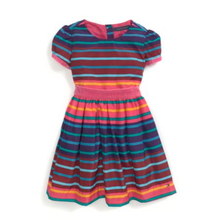 Image for STRIPED PARTY DRESS from Tommy Hilfiger USA