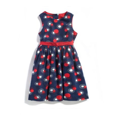 Image for SIGNATURE PRINT DRESS from Tommy Hilfiger USA