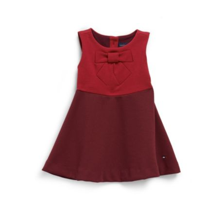 Image for BOW KNIT DRESS from Tommy Hilfiger USA