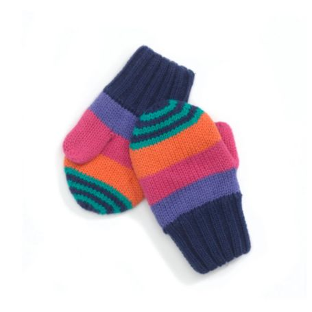 Image for STRIPE MITTENS from Tommy Hilfiger USA