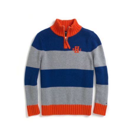 Image for 85 HALF ZIP SWEATER from Tommy Hilfiger USA