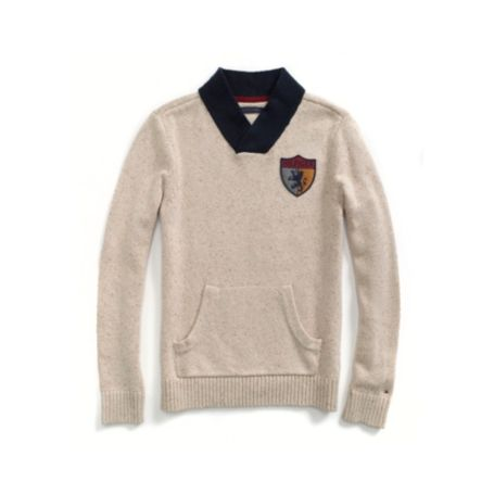 Image for SHAWL COLLAR PULLOVER from Tommy Hilfiger USA