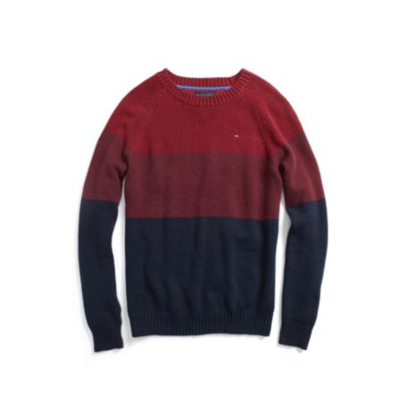 Image for GRADIENT STRIPE SWEATER from Tommy Hilfiger USA