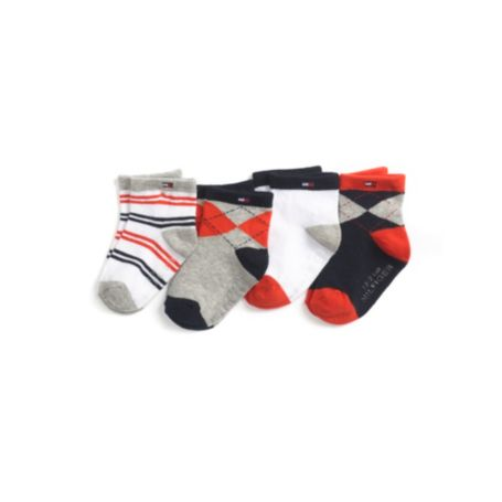 Image for INFANT 4 PACK SOCKS from Tommy Hilfiger USA
