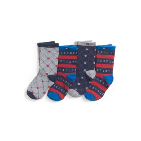 Image for INFANT DRESS SOCK 4 PACK from Tommy Hilfiger USA