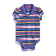 STRIPE POLO BODYSUIT $24.00 - $24.50