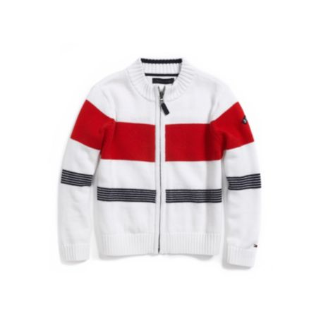 Image for FULL ZIP SWEATER from Tommy Hilfiger USA