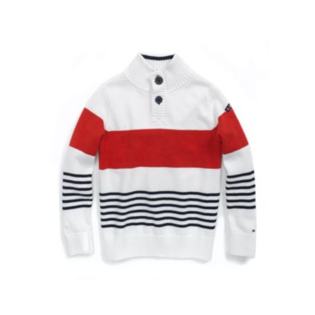 Image for MOCK NECK SWEATER from Tommy Hilfiger USA