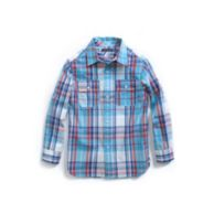 PLAID ROLL UP SHIRT $32.99