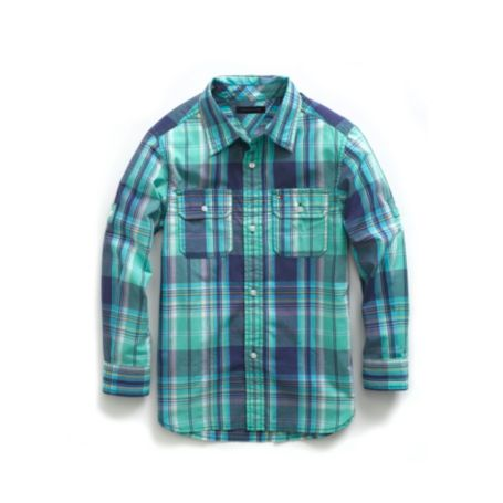 Image for PLAID ROLL UP SHIRT from Tommy Hilfiger USA