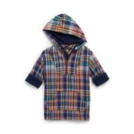 HOODED PLAID SHIRT $44.99