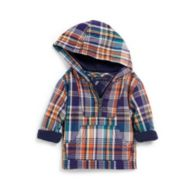 HOODED PLAID SHIRT $36.99
