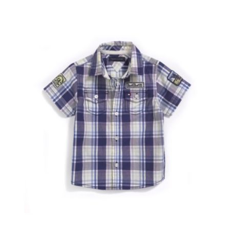 Image for PLAID NOVELTY SHIRT from Tommy Hilfiger USA