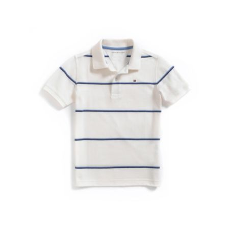 SIMPLE STRIPE POLO