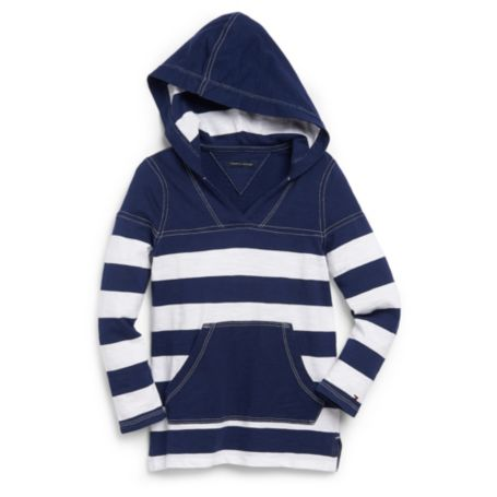 Image for STRIPE HOODIE TEE from Tommy Hilfiger USA