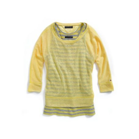 Image for FASHION 3/4 SLEEVE TEE from Tommy Hilfiger USA