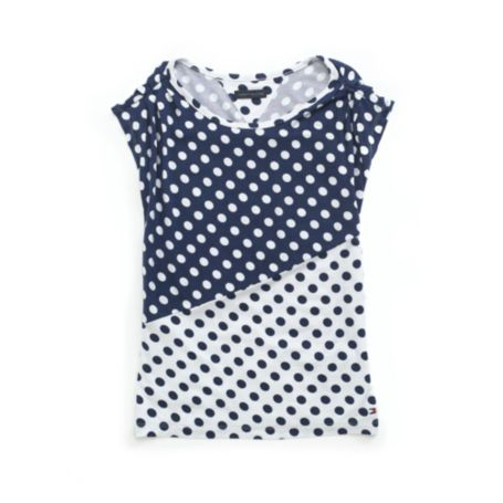 Image for FASHION DOT TEE from Tommy Hilfiger USA