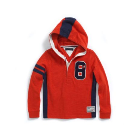 Image for HOODED RUGBY from Tommy Hilfiger USA