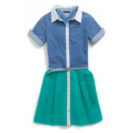Image for COLOR BLOCK DRESS from Tommy Hilfiger USA