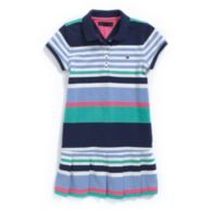 STRIPE POLO DRESS $44.50
