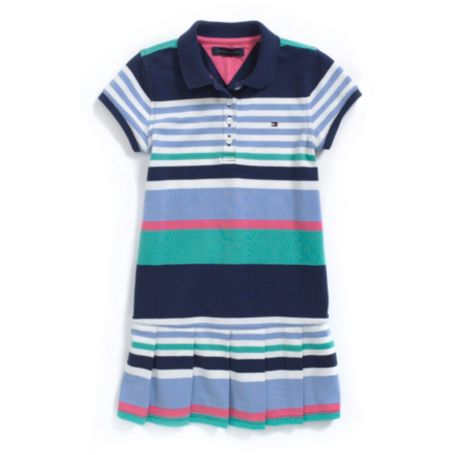 Image for STRIPE POLO DRESS from Tommy Hilfiger USA