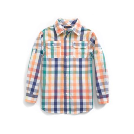 Image for MULTI COLORED PLAID ROLL UP SHIRT from Tommy Hilfiger USA
