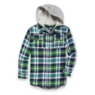 BENJAMIN HOODED FLANNEL $44.50