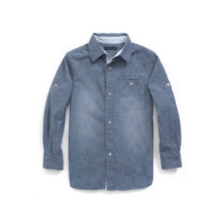 Image for CHAMBRAY SHIRT from Tommy Hilfiger USA