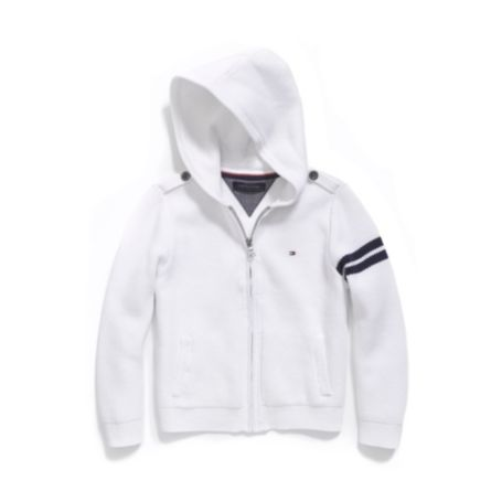 Image for FULL ZIP HOODED SWEATER from Tommy Hilfiger USA