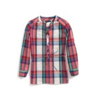 PLAID TOP $22.99